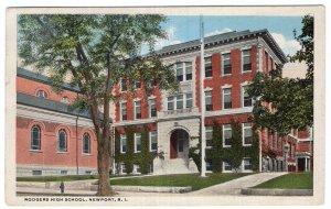 Newport, R.I., Rodgers High School