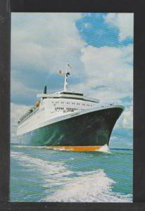 Cunard Queen Elizabeth 2 Postcard