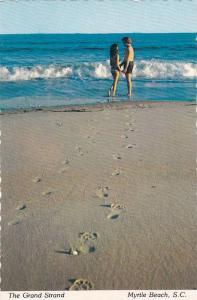 Lovely Couple, The Grand Strand, Myrtle Beach, South Carolina, 1950-1970s