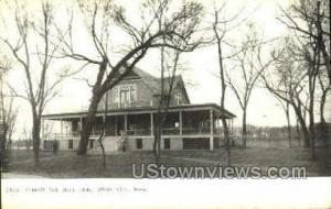 Council Oak Boat Club Sioux City IA Unused