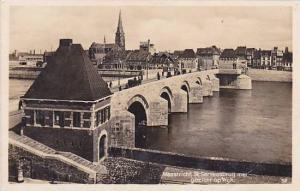 RP, St. Servaasbrug Met Gezicht Op Wijk, Maastricht (Limburg), Netherlands, 1...