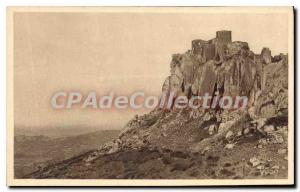 Old Postcard Les Baux B Old City Rhone ruince the century X