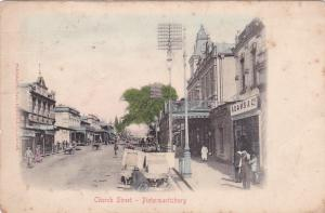 Church Street , Pietermaritzburg , South Africa , PU-1908 Adams Book Store