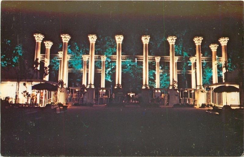 Atlanta Georgia~Six Flags~Corinthian Columns at Entrance