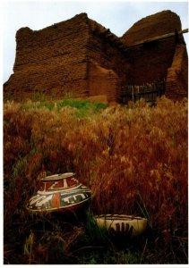 New Mexico Pecos National Monument Early 18th Century Glaze Pottery