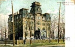 Orphan Asylum in Elizabeth, New Jersey