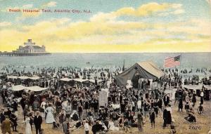 Ashbury Park New Jersey~Hotel Marlborough~Wrap-Around Porch 1910 Postcard