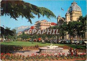 Modern Postcard Evian les Bains (Haute Savoie) Thermal Establishment and Gardens