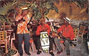 Typical Calypso Band Nassau, Bahamas Virgin Islands Unused