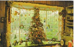 America Postcard - Brooksville Florida - Rogers' Christmas House - Village DR882