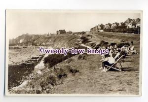 tq2075 - Kent - View from Sitting on the Top of Cliffs, at Folkestone - Postcard