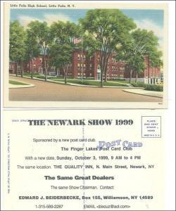 High School, Little Falls NY / 1999 Postcard Show, Newark NY