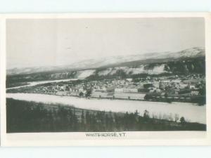 1940's rppc NICE VIEW Whitehorse Yukon Territory YT W0915