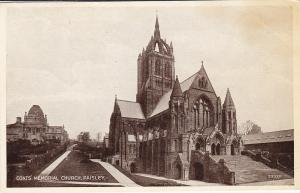 PAISLEY, Renfrewshire, Scotland, 1900-1910's; Coats' Memorial Church
