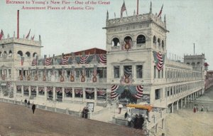ATLANTIC CITY , New Jersey , 00-10s ; Young's New Amusement Pier