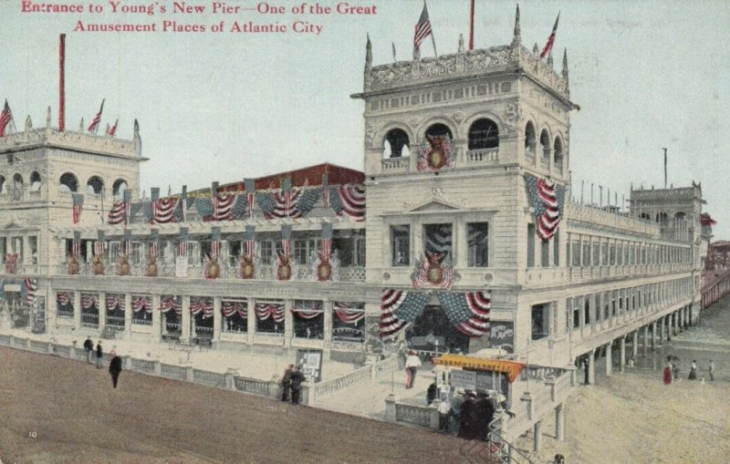 ATLANTIC CITY , New Jersey , 00-10s ; Young's New Amusement Pier