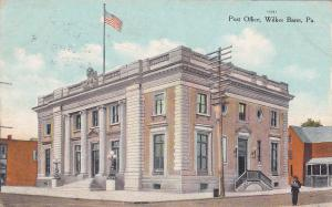WILKES-BARRE , Pennsylvania, 1900-10s ; Post Office # 2