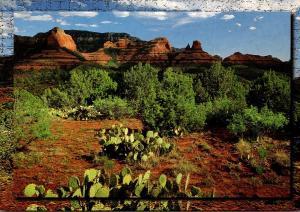 Arizona Red Rocks Of Milton Ridge Near Sedona