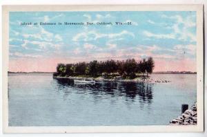 Island, Menomonte Bay, Oshkoah Wis