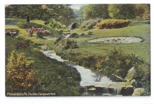 Philadelphia PA The Glen Fairmount Park Leighton ca 1910