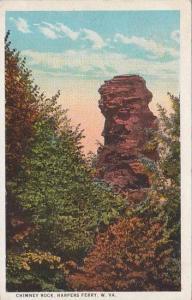 West Virginia Harpers Ferry Chimney Rock 1928