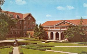 Adrian Michigan Siena Heights College Street View Vintage Postcard K36878