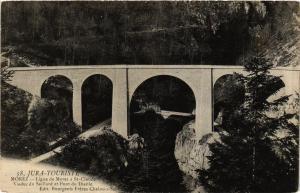 CPA MOREZ Viaduc du Saillard et Pont du Diable. (247519)