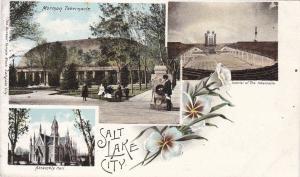 Three Views, SALT LAKE CITY, Utah, 1901-1907