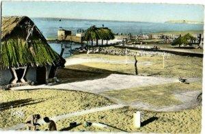 CPA AK MAROC CASABLANCA Piscine du Tahiti (23609)