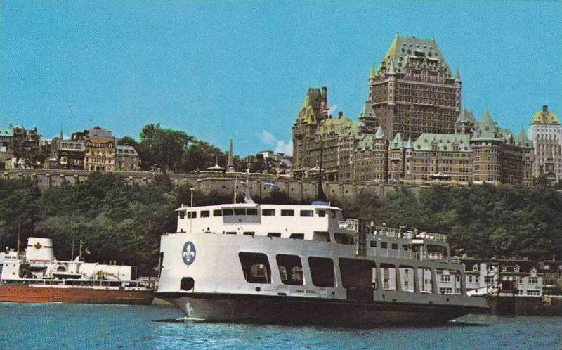 Levis from ferry boat, Quebec, Canada, 40-60s