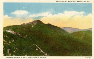 VT - Mt Mansfield. Summit