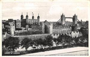 England Tower of London Silveresque