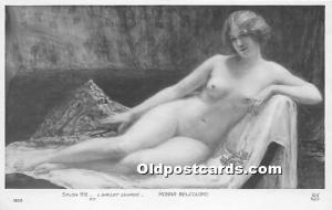 Nude Postcard Monna Belcolore Unused
