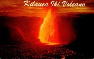 Hawaii Kilauea Iki Volcano
