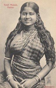 Tamil woman, CEYLON , 1900-10s