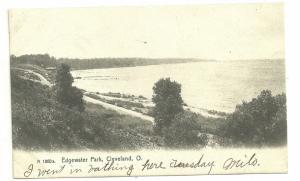 Edge water park, 1907, Cleveland, Ohio