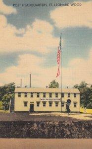 FT. LEONARD WOOD , Missouri , 1947 ; Post Headquarters
