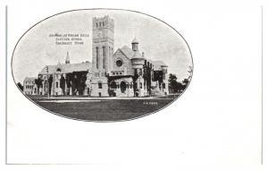 Early 1900s Shumway and Morgan Halls, Shattuck School, Faribault, MN Postcard