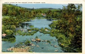 MA - Maynard. Scene on the Assabet River