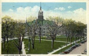 Court House Park  Warren OH 1928