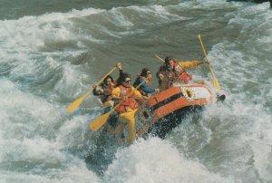 JACKSON HOLE , Wyoming , 60-80s ; White-water rafting