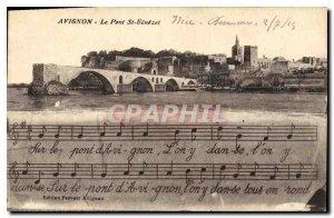 Postcard Old Avignon (Vaucluse) Le Pont St Benezet