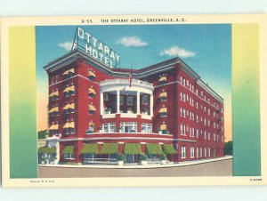 Linen HOTEL SCENE Greenville South Carolina SC AE1791