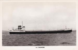 RP; M. V. SAGAMORE, Cargo Ship, 30-40s