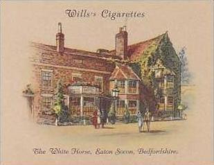 Wills Cigarette Card 2nd Series No 35 White Horse Eaton Socon Bedfordshire