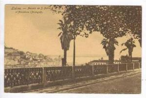Liboa.- Passeio de S. Pedro d'Alcantara(Portugal), 00-10s