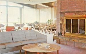 Bozeman MT~Hillcrest Retirement Apartments~Ashtrays on Table~Main Lounge~1950s
