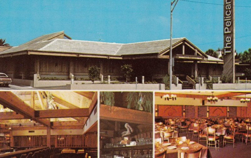 CLEARWATER , Florida , 1950-60s ; The PELICAN Restaurant