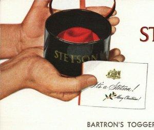 Stetson Hat Batron's Toggery Tunkhannock Pennsylvania Christmas Advertisement