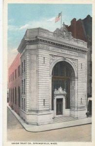 SPRINGFIELD , Massachusetts , 1900-10s ; Union Trust Company